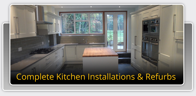 HC Refurbishments provide kitchens in Oxted